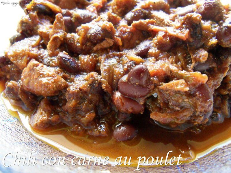 chili con carne au poulet