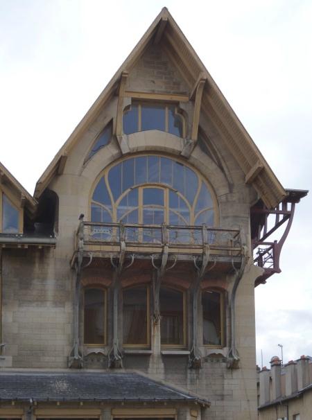 Villa Majorelle balconc