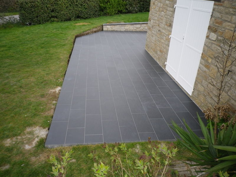 Point p terrasse en bois diverses id es de conception de patio - Carrelage exterieur point p ...
