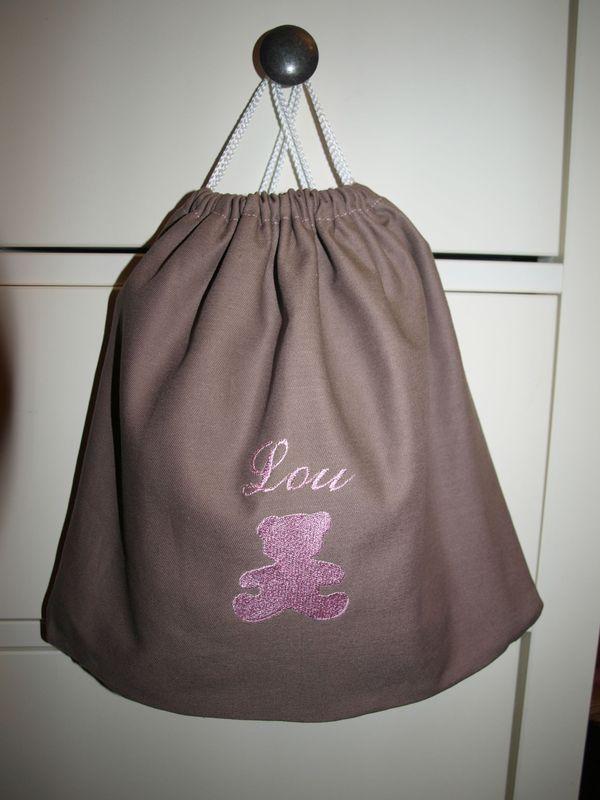 petit sac dos personnalis un jour d 39 t confection de cort ges v tements enfants et. Black Bedroom Furniture Sets. Home Design Ideas