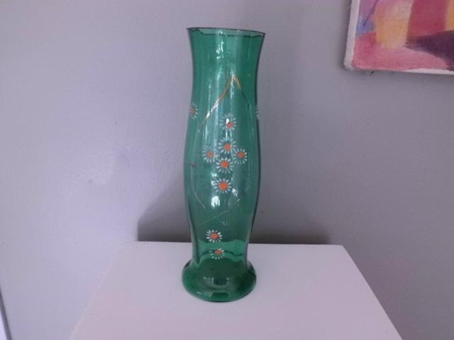 vase-verre-soufflé-émaillé