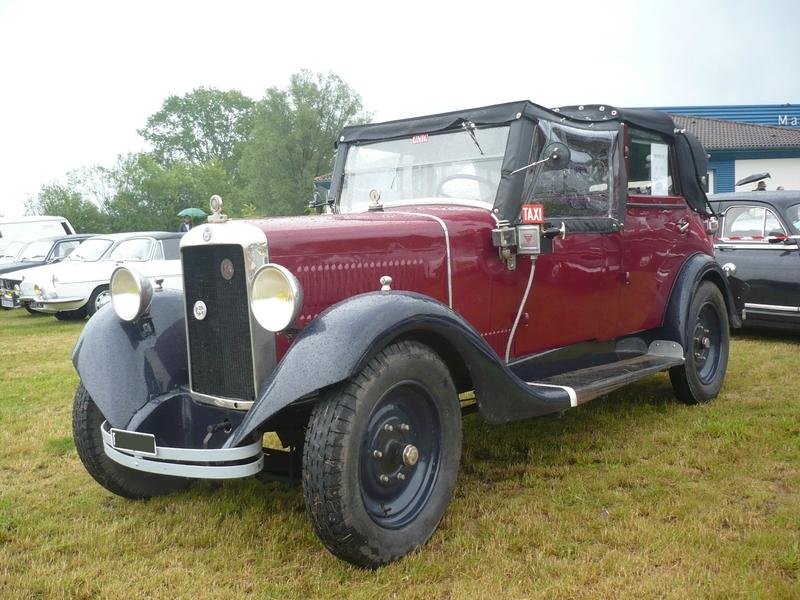 UNIC Georges Richard taxi Landaulet 1929 Madine (1)