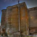 Grain silo backyard (canon eos 7d hdr)