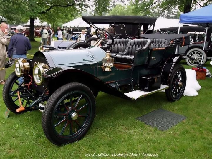 1911 - Cadillac Model 30 Demi-Tonneau