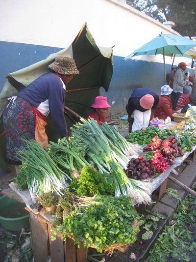 Le marché de Mahamasina