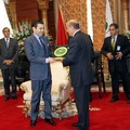 "Prince Moulay Rachid awarded the ""Ecu d'Or"" for dialogue between civilisations May 03 2006"