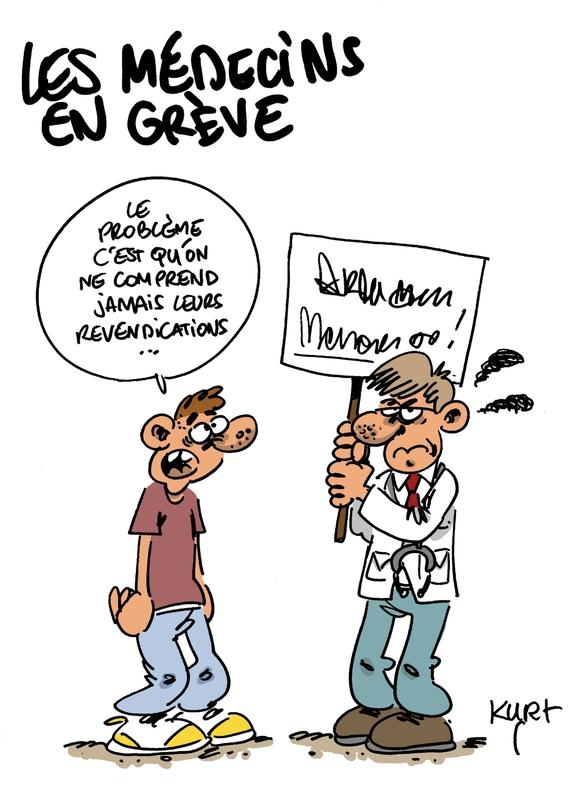 medecins en grève