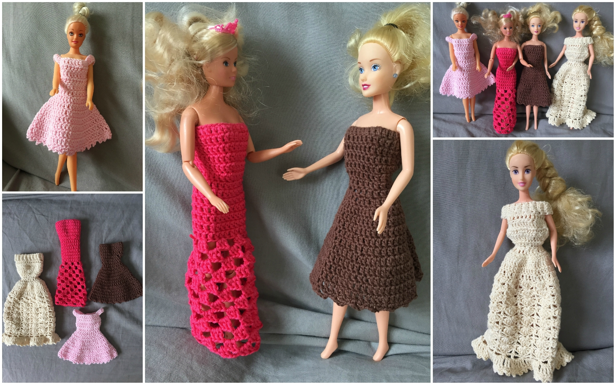 Robes pour Barbies