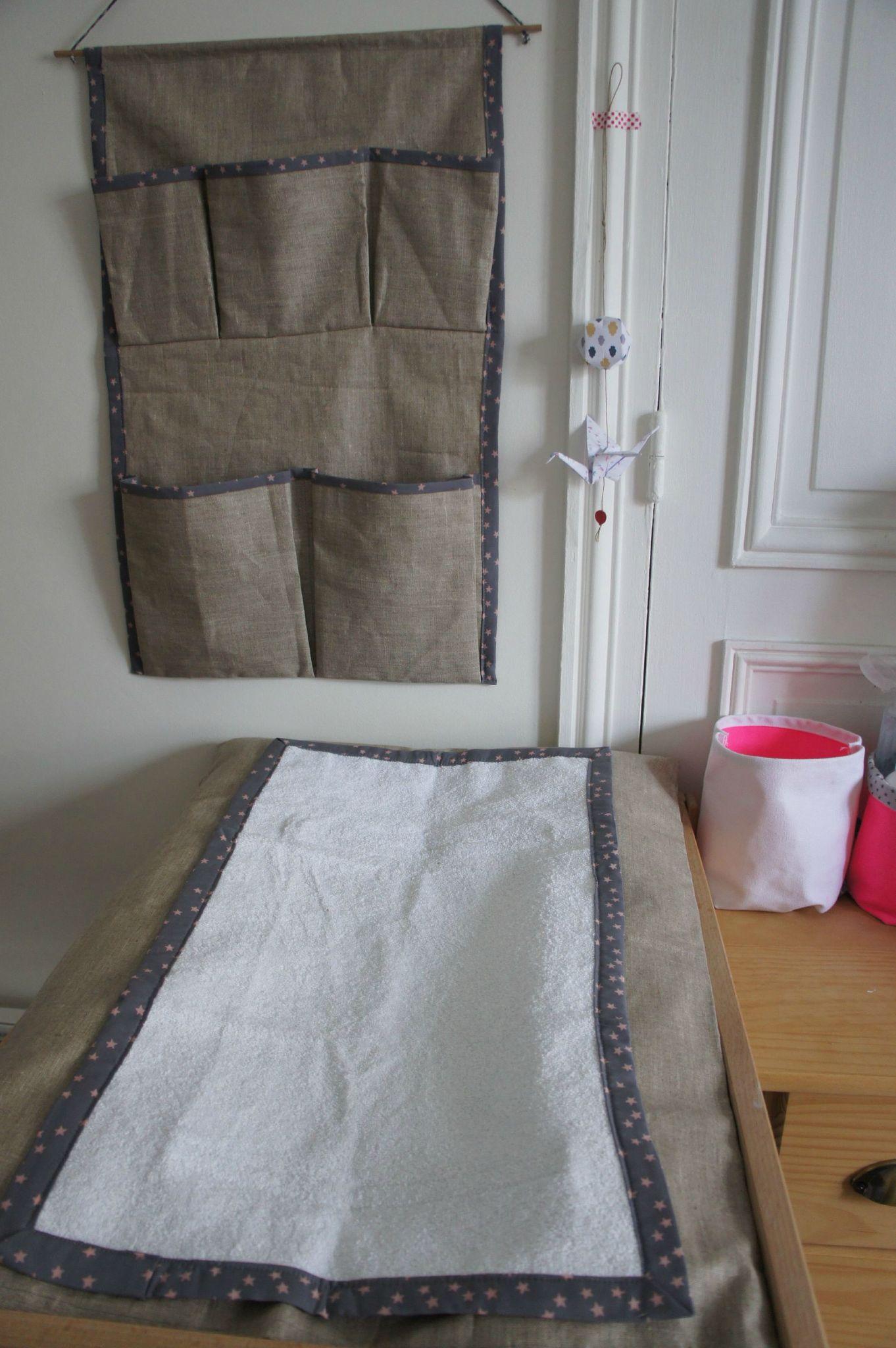 une chambre de b b en lin et toiles ernest est c leste. Black Bedroom Furniture Sets. Home Design Ideas