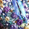 Broderies aux rubans de soie et autres.....