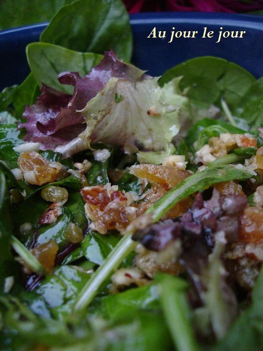 différentes salades vertes