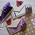 Défi de l'avent - o comme origami