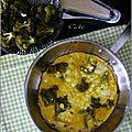 Frittata brocoli & chèvre