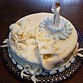 Biscuit crème au beurre vanille/framboise pour 1ère communion, bis