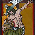 Saint françois et le crucifié (d'après murillo)