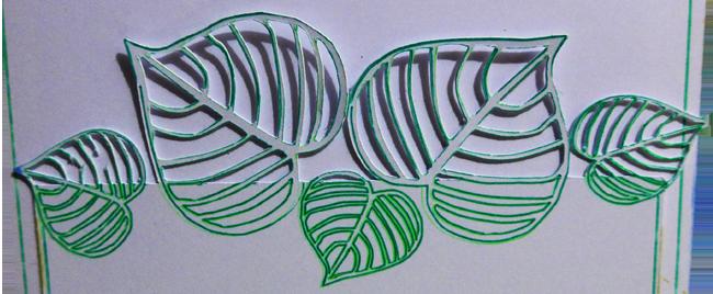 envoyé ibiscus amitié (4) detail feuilles