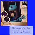 My lantern de kid'sleep : test et cadeau inside :-)