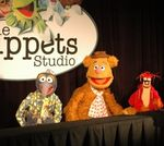 Gonzo__Fozzie__and_Pepe_at_D23