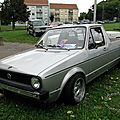 Volkswagen golf caddy pickup 1985