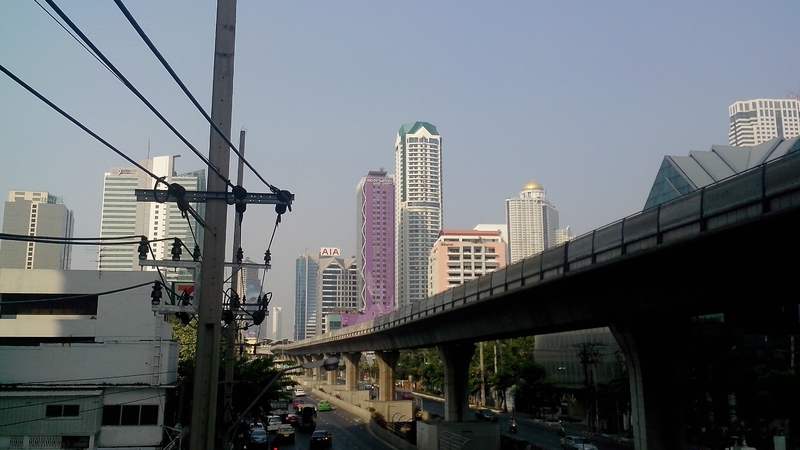 Les buildings de Bangkok