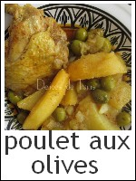 Poulet aux olives index