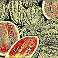 Quarantaine & pastèque