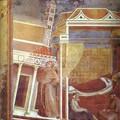 le Pape Innocent III rêve voit Saint François en rêve