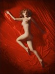 1949_TomKelley_RedSatin_Pose090