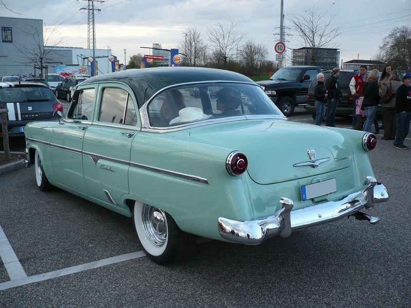 ford customline 4 door sedan 1954 vroom vroom