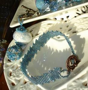 Bracelet_Bleu_Neige