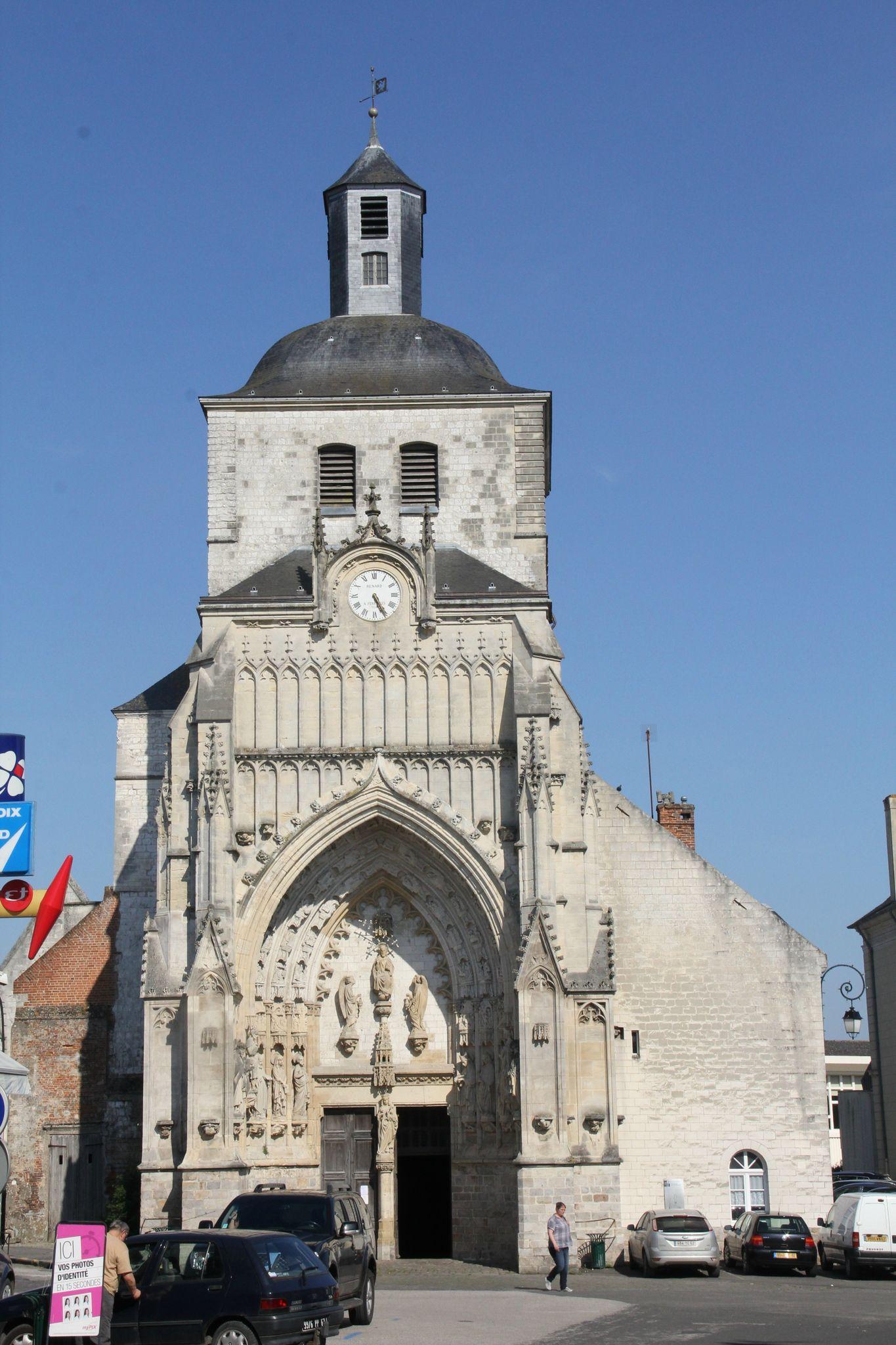 Montreuil sur mer l 39 glise abbatiale saint saulve - Office du tourisme de montreuil sur mer ...