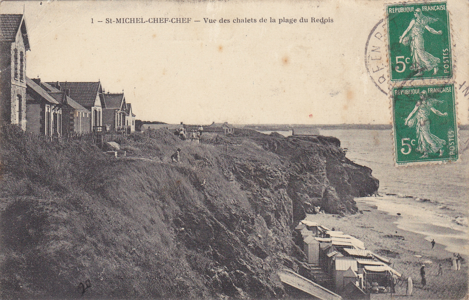Carte postale ancienne st michel chef chef antiquit s for O architecture brest