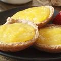 Mini tartelettes à la crème de citron et pignons