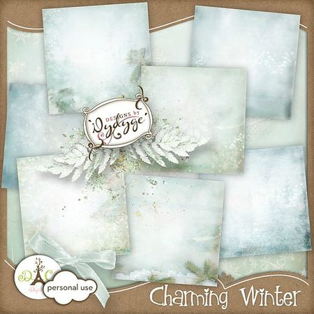 charming winter papers