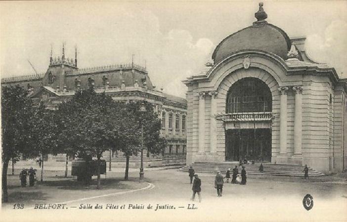 CPA Belfort Salle des Fêtes