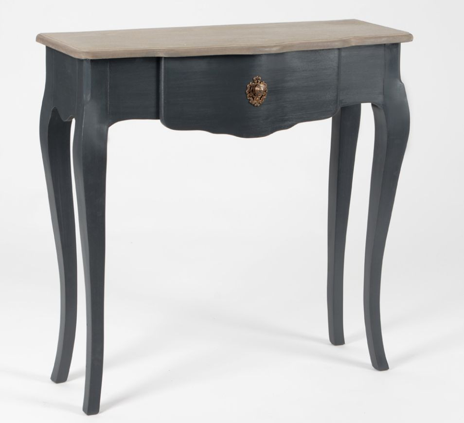 console bois gris meubles et d coration amadeus au grenier de juliette. Black Bedroom Furniture Sets. Home Design Ideas