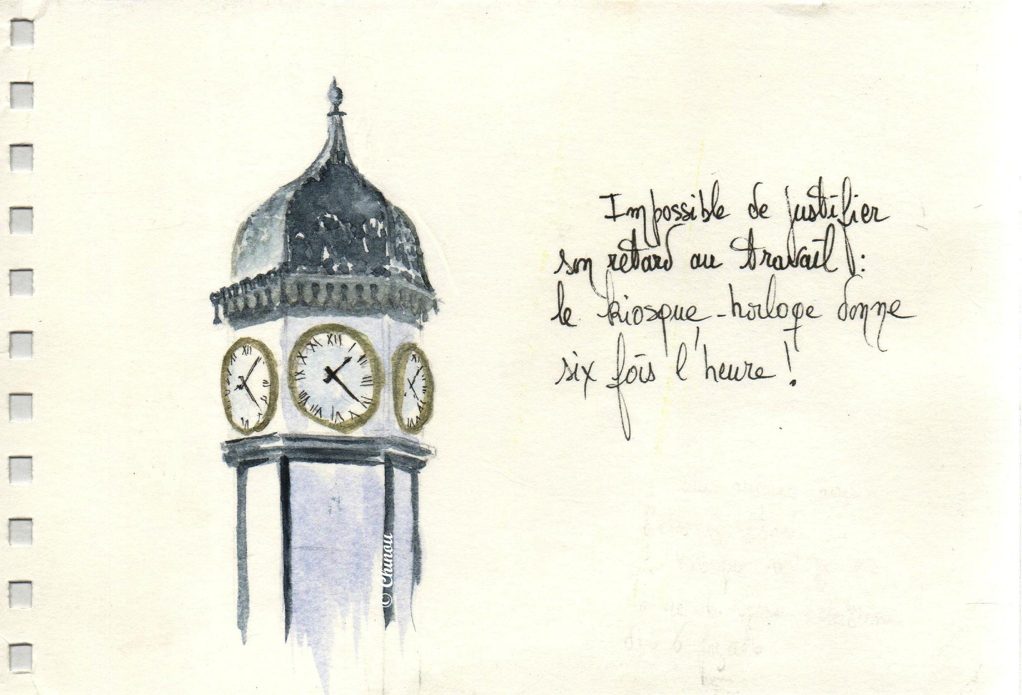 Horloge Nerac