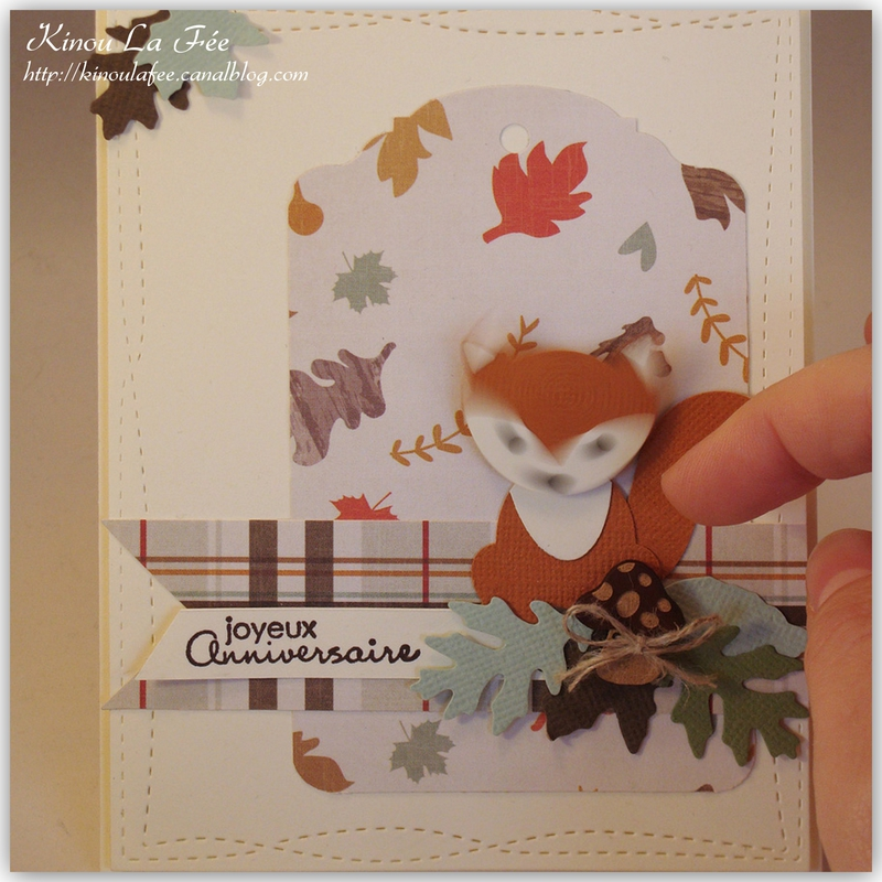 Carte Foxy Friends Automne 3