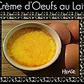Crème d'oeufs au lait