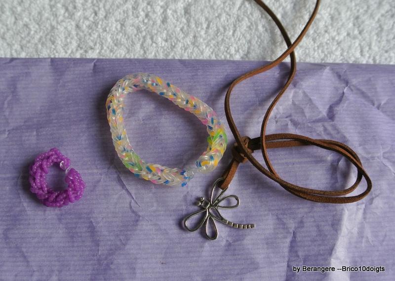 un bracelet pour la poupée et un pour moi