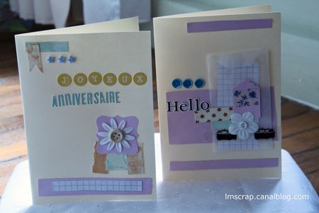 cartes kit celebrate lmscrap