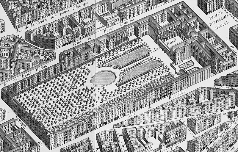 plan du palais royal