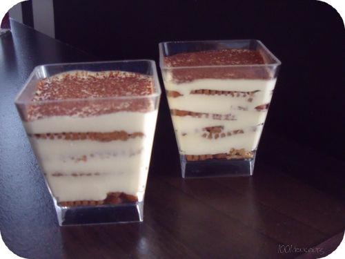 Tiramisu petit beurre chocolat