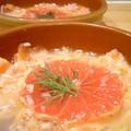 Tartare de saumon au pamplemousse rose et miel