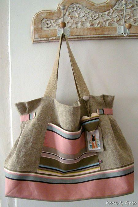sac cabas pour Vent des coeurs