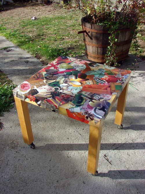 "table ""suédoise"" marouflée !"