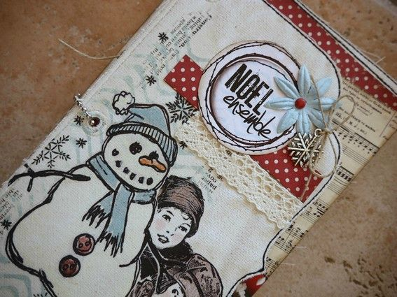 Mini album Scrapbox dcembre 1