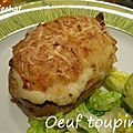 Oeuf toupinel