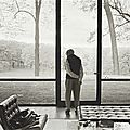 Annie Leibovitz, Philip Johnson, Glass House, New Canaan, Connecticut, 2000