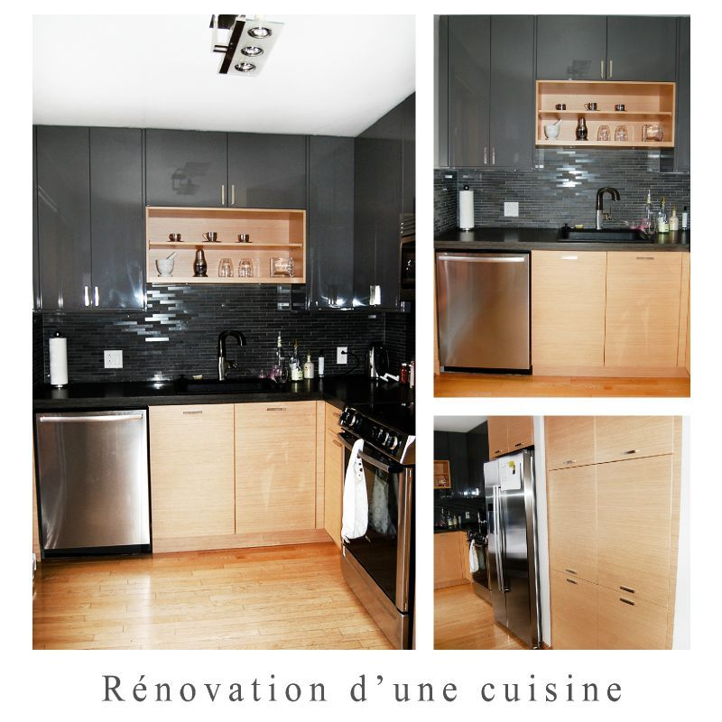 Une cuisine r nov e camelehome home staging design d for Cuisine 10 x 14